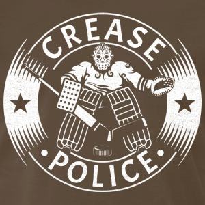 Crease Police (Hockey Goalie) T-Shirts - Men's Premium T-Shirt
