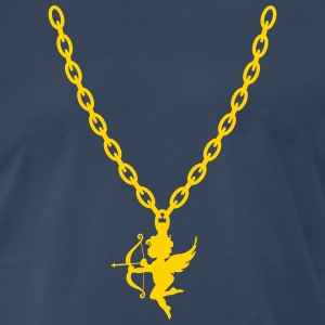 Cupid Gold Chain - Men's Premium T-Shirt