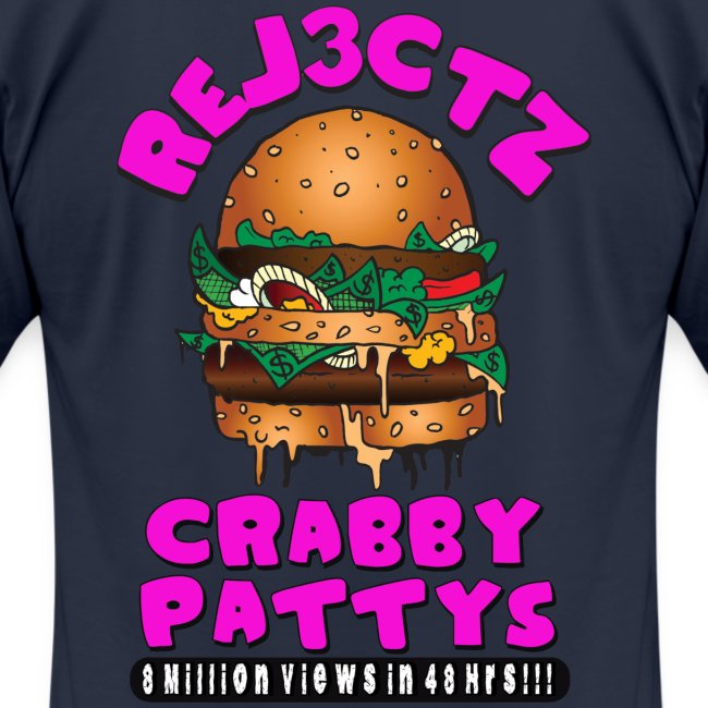 AMERICAN APPAREL CRABBY PATTY TEE