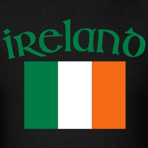 Ireland Flag St Patricks Day Shirt - Men's T-Shirt