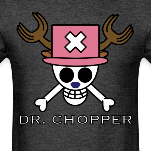 Chopper Skull Flag - Men's T-Shirt
