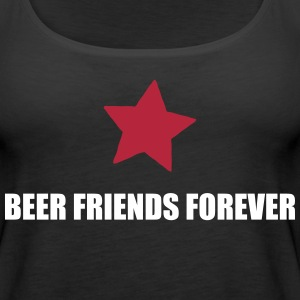 BFF beer friends forever Tanks - Women's Premium Tank Top