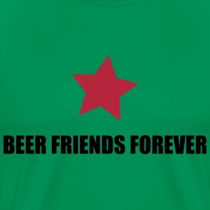 BFF beer friends forever T-Shirts - Men's Premium T-Shirt