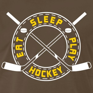 Eat, Sleep, Play Hockey T-Shirts - Men's Premium T-Shirt