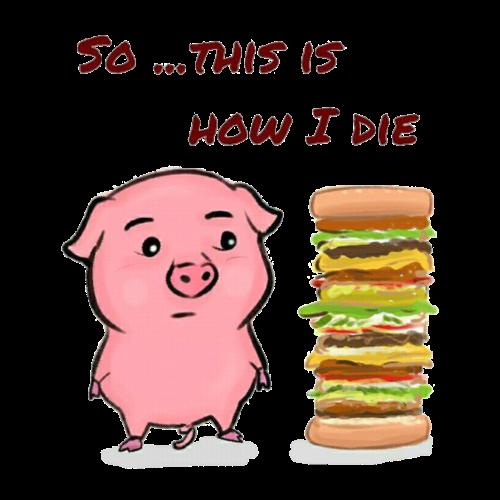 piggy die
