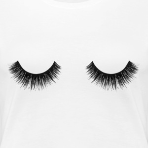 Lashes T-Shirts - Women's Premium T-Shirt