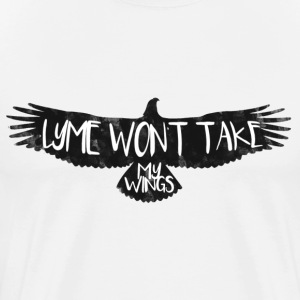 LYME WON'T TAKE MY WINGS - Men's Premium T-Shirt