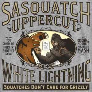 Sasquatch Uppercut White Lightning - Kids' Premium T-Shirt