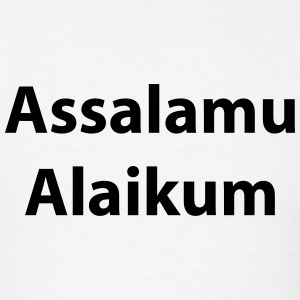 Assalamu Alaikum T-Shirts - Men's T-Shirt