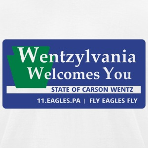 Wentzylvania T-Shirts - Men's T-Shirt by American Apparel