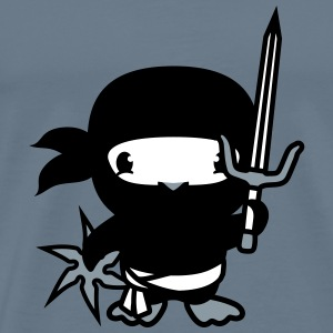 Fighter, ninja, samurai, japan, sneak, weapons, sw T-Shirts - Men's Premium T-Shirt