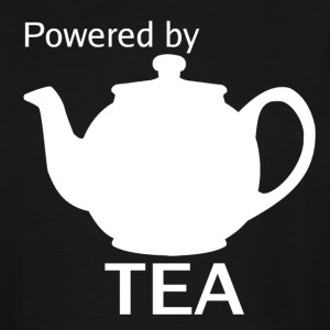 Powered By Tea - Men's Tall T-Shirt