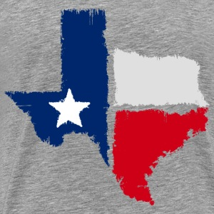 grunge texas state - Men's Premium T-Shirt