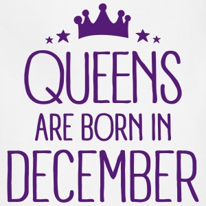 Queens Are Born In December Aprons - Adjustable Apron