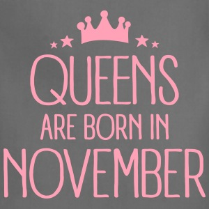 Queens Are Born In November Aprons - Adjustable Apron