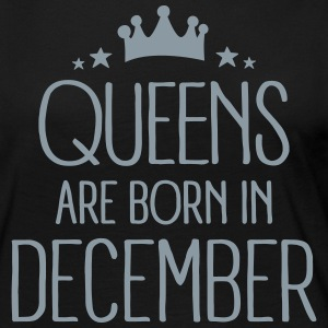 Queens Are Born In December Long Sleeve Shirts - Women's Premium Long Sleeve T-Shirt