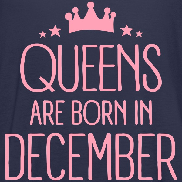 Queens Are Born In December Tanks - Women's Flowy Tank Top by Bella