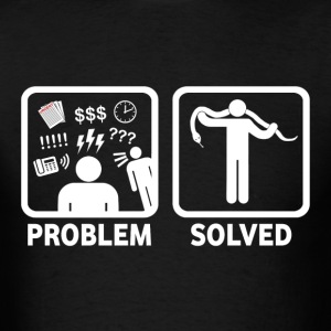 Snakes Problem Solved - Men's T-Shirt