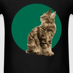 Main Coon Cat - Men's T-Shirt