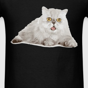 Persian Cat - Men's T-Shirt