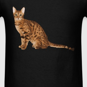 Bengal Cat - Men's T-Shirt