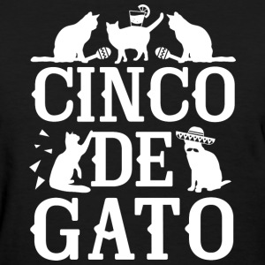 Cinco De Gato - Women's T-Shirt
