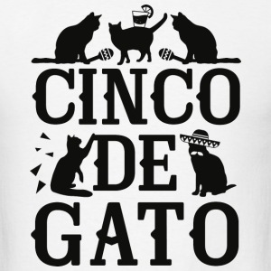 Cinco De Gato - Men's T-Shirt