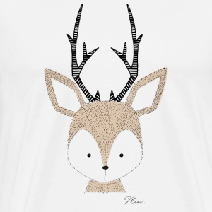 Cute Deer T-Shirts - Men's Premium T-Shirt