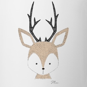 Cute Deer - by MEOW Mugs & Drinkware - Coffee/Tea Mug