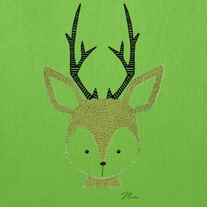 Cute Deer - by MEOW Bags & backpacks - Tote Bag