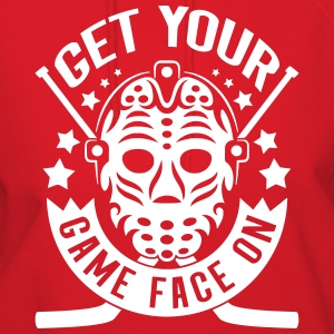 Get Your Game Face On (Hockey) Hoodies - Women's Hoodie