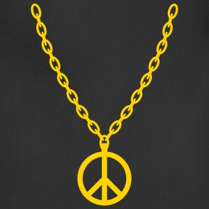 Peace Gold Chain - Adjustable Apron
