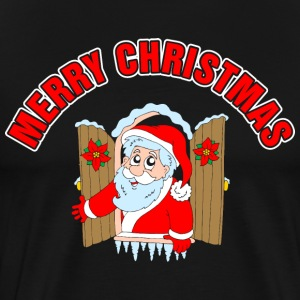 Merry Christmas Santa T-Shirts - Men's Premium T-Shirt