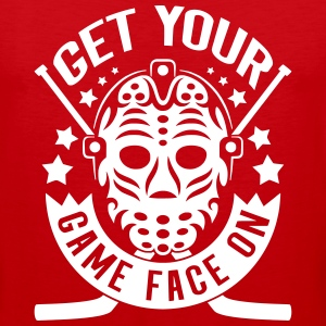 Get Your Game Face On (Hockey) Sportswear - Men's Premium Tank