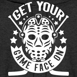 Get Your Game Face On (Hockey) Hoodies - Men's Hoodie