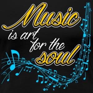 Music Is Art For The Soul T-Shirts - Women's Premium T-Shirt