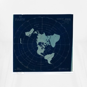Earth Map Tee - Men's Premium T-Shirt