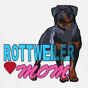 I am A Rottweiler Mom - Men's Premium T-Shirt