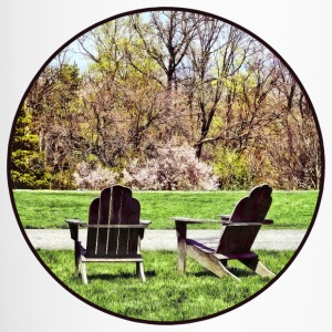 Adirondack Chairs in Spring Mugs & Drinkware - Travel Mug