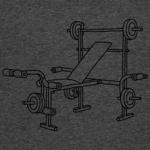 Weight bench bodybuilding T-Shirts - Men's 50/50 T-Shirt