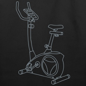 Exercise bike Hometrainer Bags & backpacks - Eco-Friendly Cotton Tote