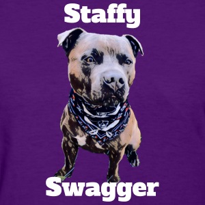 Staffy Swagger 2 - Women's T-Shirt