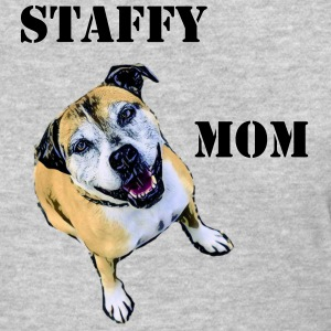 Staffy Mom 2 - Women's T-Shirt