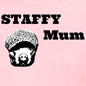 Staffy Mum - Women's T-Shirt