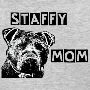Staffy Mom - Women's T-Shirt