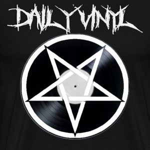 Daily Vinyl 666 - Men's Premium T-Shirt
