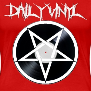 Daily Vinyl 666 Ladies - Women's Premium T-Shirt
