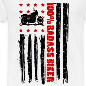 BADASS BIKE    12AS.png T-Shirts - Men's Premium T-Shirt