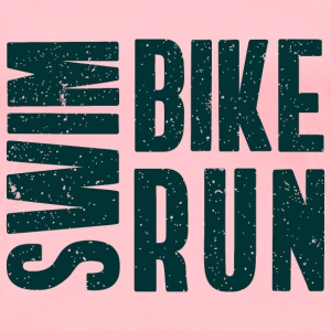 Triathlon. Swim. Bike. Run T-Shirts - Women's Premium T-Shirt