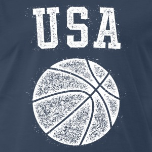 USA Basketball Vintage - Men's Premium T-Shirt